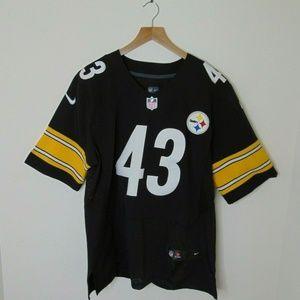 Nike On Field 40 Pittsburgh Steelers Jersey Troy